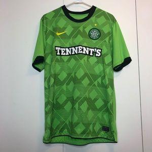 Celtic Tennents Nike Dri Fit Football Jersey Shirt